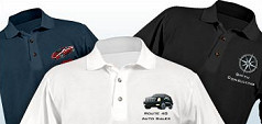 Embroidered Polo Shirts in Thetford